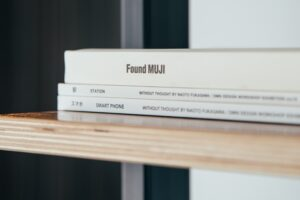 book on the shelf